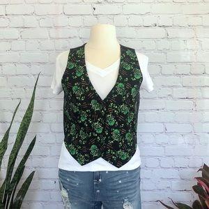 Vintage St. Patricks Day Vest